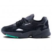 Adidas Falcon Black/Green