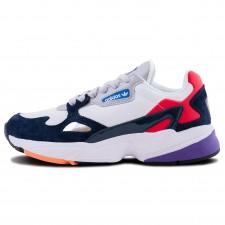 Adidas Falcon White/Blue/Red