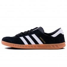 Adidas Originals Hamburg Core Black/White/Gum