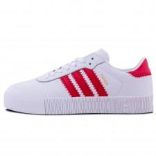 Adidas Samba Rose White/Red