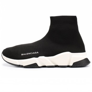 Женские кроссовки Balenciaga Speed Trainer Black/White