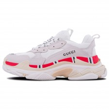 Balenciaga Triple S x Gucci White