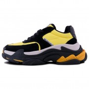Balenciaga Triple S V2 Black/Yellow
