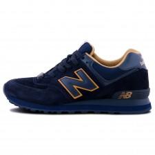 New Balance 574 Dark Blue/Brown