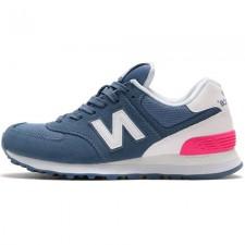 New Balance 574 Blue/White/Pink