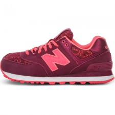 New Balance 574 Burgundy/Pink