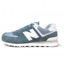 New Balance 574 Azure/White