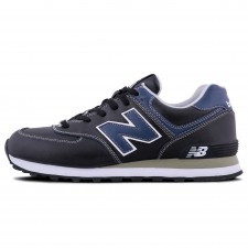 New Balance 574 Black/Blue