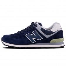 New Balance 574 Blue (без сетки)