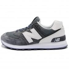 New Balance 574 Gray/White