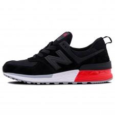 New Balance 574 S Black/White