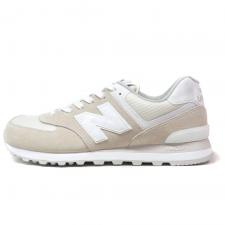 New Balance 574 Beige/White