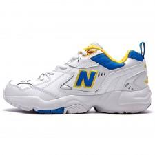New Balance 608 White/Blue/Yellow