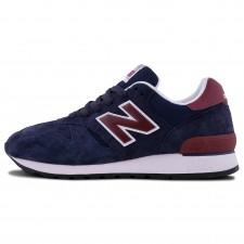 New Balance 670 Dark Blue/Burgundy