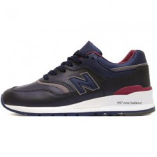 New Balance 997 Dark/Blue/Red