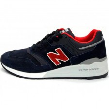 New Balance 997 Giants Dark/Blue/Red