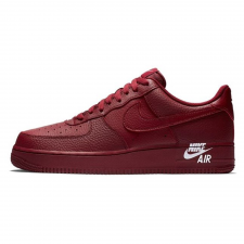 Nike Air Force 1 Low Leather Team Burgundy