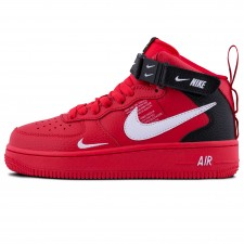 Nike Air Force 1 Mid 07 LV8 Red