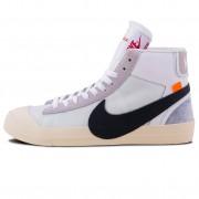 OFF-White x Nike Blazer Mid Sneakers White