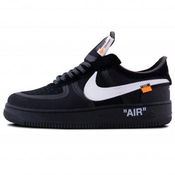 Мужские кроссовки Nike Air Force 1 x OFF-White Black