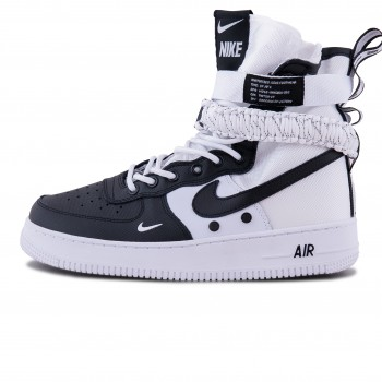Мужские кроссовки Nike Air Force 1 SF Mid Black/White