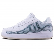 "Nike Air Force 1 Low ""Skeleton"" White"