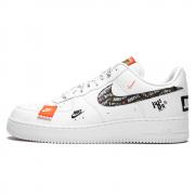 Nike Air Force 1'07 White/Black Total Orange