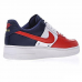 Мужские кроссовки Nike Air Force 1 Low Obsidian/White-University Red