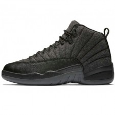 Nike Air Jordan 12 Retro Jumpmen Black Wolf