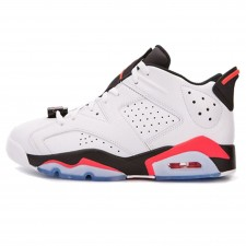 Nike Air Jordan 6 Low White/Black/Coral