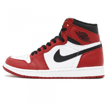 Мужские кроссовки Nike Air Jordan 1 Retro Red/White