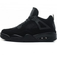 Nike Air Jordan 4 Retro All Black