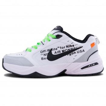 Мужские кроссовки Nike Air Monarch x OFF-White Grey/White