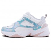 Nike M2K Tekno Summit White Barely Rose