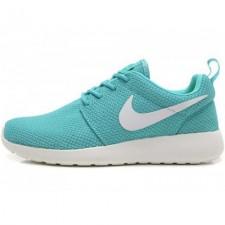 Nike Roshe Run Material Turquoise White
