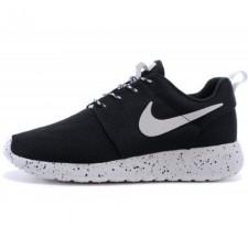 Nike Roshe Run Noir Blanc Supreme Black/White