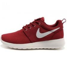 Nike Roshe Run Material Burgundy/White