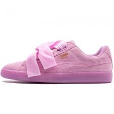Puma Basket Heart Patent Pink Bow