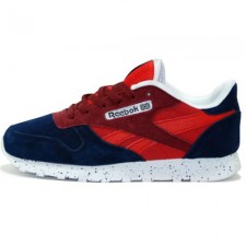 Reebok Classic Leather Dark Blue/Red